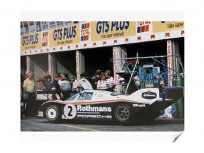 Book: Porsche 956 The Long-distance Champion from Reynald Hezard / D. Legangneux