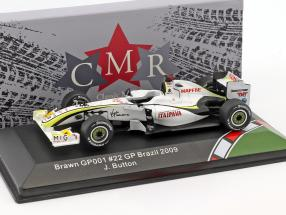 Jenson Button Brawn BGP 001 #22 Brazilian GP World Champion F1 2009 1:43 CMR