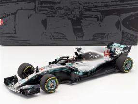 Lewis Hamilton Mercedes-AMG W09 EQ World Champion formula 1 2018 1:18 Minichamps
