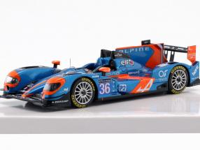 Alpine A450b #36 7th 24 hours LeMans 2014 Chatin, Panciatici, Webb 1:43 Spark