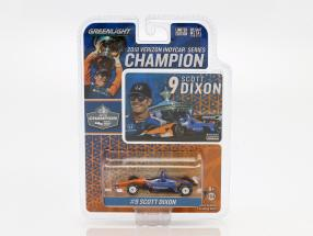 Scott Dixon Honda #9 Champion Indycar Series 2018 1:64 Greenlight