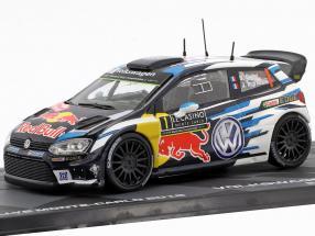 Volkswagen VW Polo R WRC #1 Winner Rallye Monte Carlo 2016 Ogier, Ingrassia 1:43 Altaya