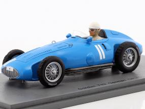 Andre Milhoux Gordini Type 32 #11 Germany GP formula 1 1956 1:43 Spark