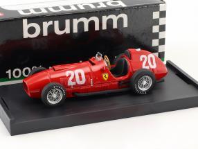 Alberto Ascari Ferrari 375 #20 Schweiz GP Formel 1 1951 1:43 Brumm