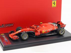 Kimi Räikkönen Ferrari SF71H #7 Winner USA GP Formel 1 2018 1:43 LookSmart