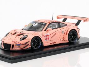 Porsche 911 GT3 R Pink Pig #991 China GT Championship Shanghai 2018 1:43 Spark