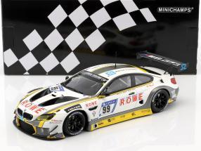 BMW M6 GT3 #99 10th 24h Nürburgring 2017 ROWE Racing 1:18 Minichamps