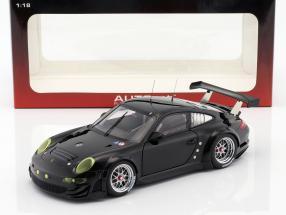 Porsche 911 (997) GT3 RSR Plain Body Edition 2010 black 1:18 AUTOart