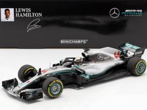 L. Hamilton Mercedes-AMG W09 EQ #44 World Champion formula 1 2018 1:18 Minichamps
