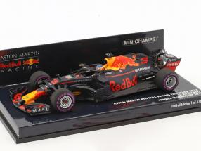 D. Ricciardo Red Bull Racing RB14 #3 Winner Monaco GP F1 2018 1:43 Minichamps