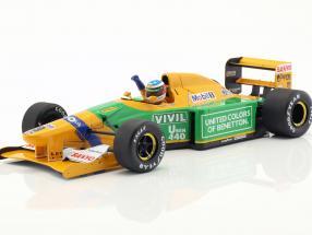M. Schumacher Benetton B192 #19 1st GP Victory Spa formula 1 1992 1:18 Minichamps