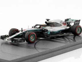L. Hamilton Mercedes-AMG F1 W09 EQ Power  #44 World Champion Winner Abu Dhabi GP F1 2018 1:43 Spark