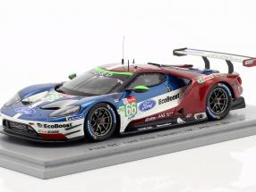 Ford GT #66 24h LeMans 2018 Mücke, Pla, Johnson 1:43 Spark