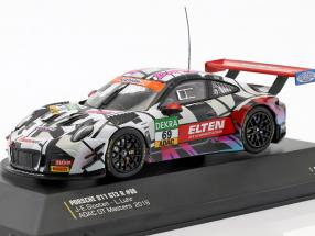 Porsche 911 (991) GT3 R #69 ADAC GT Masters Hockenheim 2018 Danke Fans 1:43 CMR