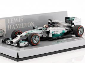 L. Hamilton Mercedes F1 W05 #44 World Champion Malaysia GP F1 2014 1:43 Minichamps
