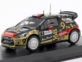 Citroen DS3 WRC #1 Rallye France Alsace 2013 Loeb, Elena 1:43 Direkt Collections