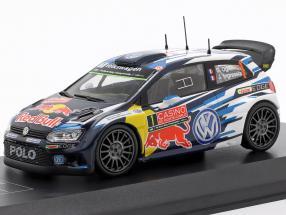 Volkswagen VW Polo R WRC #1 Winner Rallye Monte Carlo 2015 Ogier, Ingrassia 1:43 Direkt Collections