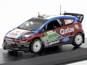 Ford Fiesta RS WRC #11 2nd Rallye Italy Sardinia 2013 Neuville, Gilsoul 1:43 Direkt Collections