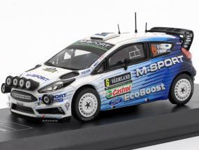 Ford Fiesta RS WRC #6 4th Rallye Sweden 2015 Tänak, Mölder 1:43 Direkt Collections