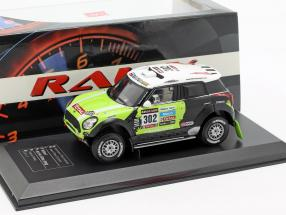 Mini All4 Racing #302 Winner Rallye Dakar 2013 Peterhansel, Cottret 1:43 Direkt Collections