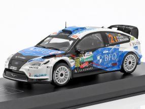 Ford Focus RS WRC 08 #2 Winner TAC Rallye Belgium 2013 Loix, Miclotte 1:43 Direkt Collections