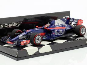 Pierre Gasly Toro Rosso STR12 #10 F1 Debut Japan GP 2017 1:43 Minichamps