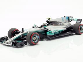 Valtteri Bottas Mercedes-AMG F1 W08 #77 2nd Mexican GP F1 2017 1:18 Minichamps