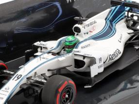 Felipe Massa Williams FW40 #19 Last GP Abu Dhabi formula 1 2017