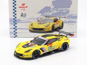 Chevrolet Corvette C7.R #63 24h LeMans 2018 Magnussen, Garcia, Rockenfeller 1:18 Spark