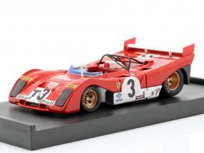 Ferrari 312PB #3T Winner Targa Florio 1972 Testcar Merzario, Munari 1:43 Brumm