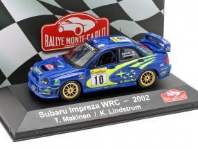Subaru Impreza WRC #10 Winner Rallye Monte Carlo 2002 Mäkinen, Lindström 1:43 Atlas