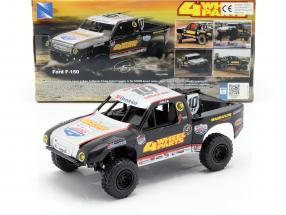 Ford F-150 4 Wheel Parts Off-Road Truck #10 Greg Adler 1:24 NewRay
