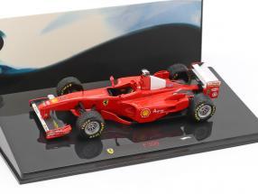 M. Schumacher Ferrari F300 Formel 1 1998 British GP 1:43 HotWheels Elite