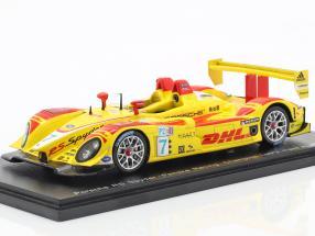 Porsche RS Spyder #7 Champion LMP2 Class ALMS 2007 Romain Dumas, Timo Bernhard 1:43 Spark