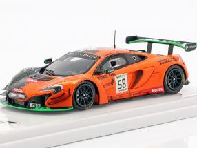 McLaren 650S GT3 #58 24h Spa 2017 Strakka Racing 1:43 TrueScale