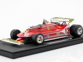 G. Villeneuve Ferrari 312T4 short spoiler #12 Monaco GP F1 1979 1:18 GP Replicas