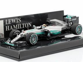 L. Hamilton Mercedes AMG F1 W07 #44 Australian GP formula 1 2016 1:43 Minichamps