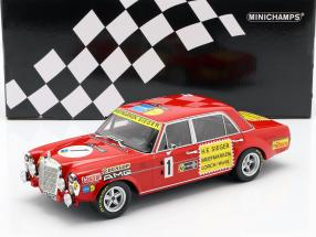 Mercedes-Benz 300 SEL 6.8 #1 24h Nürburgring 1972 Heyer, Betzler 1:18 Minichamps