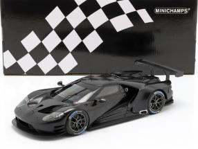 Ford GT Testcar 2016 black 1:18 Minichamps