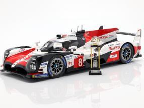 Toyota TS050 Hybrid #8 Winner 24h LeMans 2018 Buemi, Nakajima, Alonso 1:18 Spark