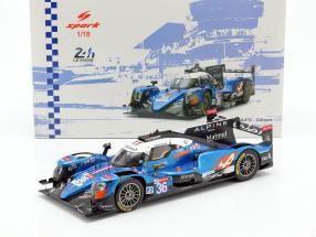 Alpine A470 #36 Winner LMP2 class 24h LeMans 2018 1:18 Spark