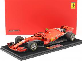 Kimi Räikkönen Ferrari SF71H #7 Winner USA GP Formel 1 2018 1:18 LookSmart