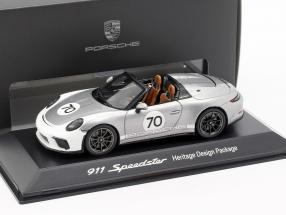 Porsche 911 (991 II) Speedster #70 Heritage Design Package 2019 silber 1:43 Spark