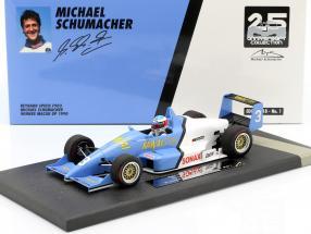 Michael Schumacher Reynard F903 #3 Winner Macau GP Formel 3 1990 1:18 Minichamps