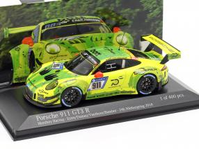 Porsche 911 (991) GT3 R #911 24h Nürburgring 2018 Manthey Grello 1:43 Minichamps
