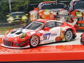 2-Car Set Porsche 911 (991) GT3 R Frikadelli #30 & #31 24h Nürburgring 2018