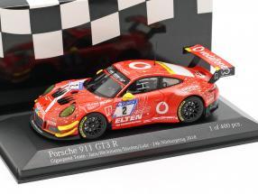Porsche 911 (991) GT3 R #2 24h Nürburgring 2018 Gigaspeed Team 1:43 Minichamps