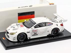 BMW M6 GT3 #34 VLN 9 Nürburgring 2018 Walkenhorst Motorsport 1:43 Spark