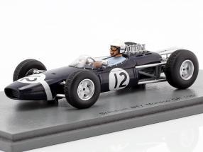 Jo Bonnier Brabham BT7 #12 Monaco GP Formel 1 1965 1:43 Spark