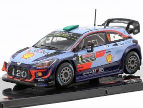 Hyundai i20 WRC #6 2nd Rally Australia 2018 Paddon, Marshall 1:43 Ixo